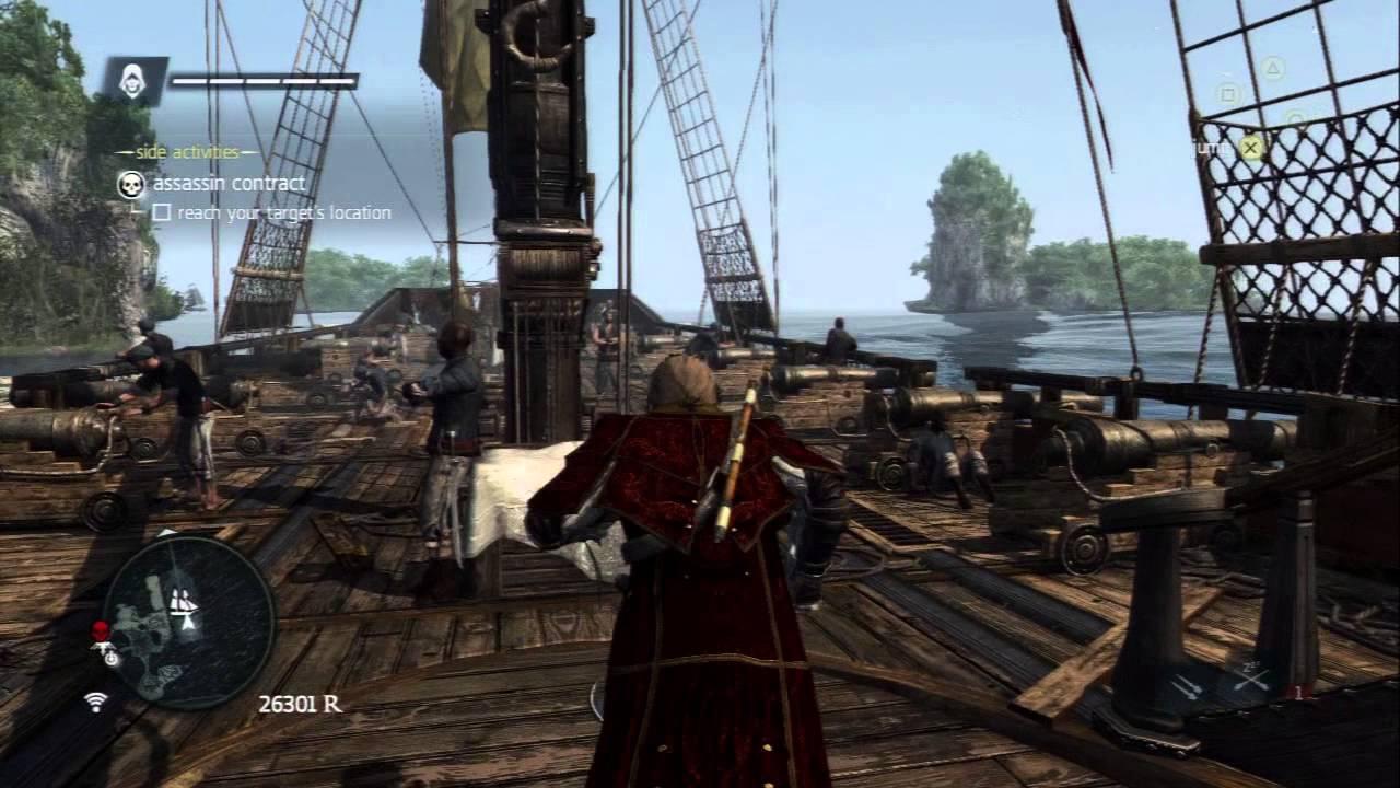 Assassins Creed Black Flag Crimson Cloak Outfit Youtube