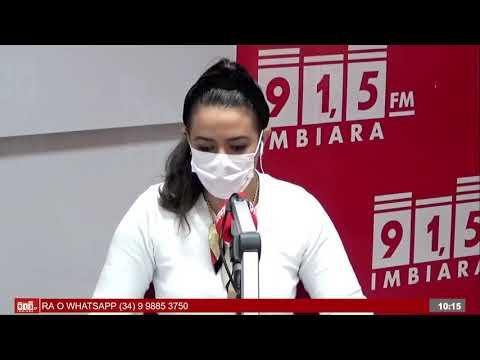 Entrevista sobre vacinação da Covid-19 em Araxá critérios para grupos