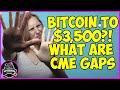 Bitcoin CME Futures 4H Gap: Will Bitcoin go back to $3500 ...