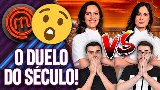HEAVEN VS. MANU: QUAL É A MELHOR CHEF DO MASTERCHEF PROFISSIONAIS?! | Virou Festa