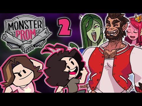 Monster Prom: Seeking Love - PART 2 - Game Grumps |