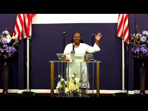 """Lady Mary H. Baines  """"The Power  of Praise and Worship"""""""