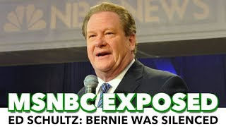 Ex-Host Exposes MSNBC: 'I Was Told Not To Cover Bernie'