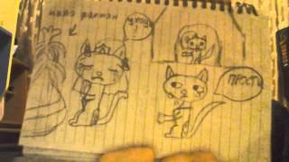 Нарисованная история кошки