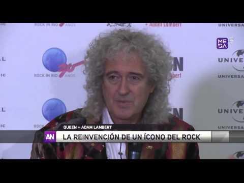 2015-09-14 Queen + Adam Lambert - Ahora Noticias [Chile]