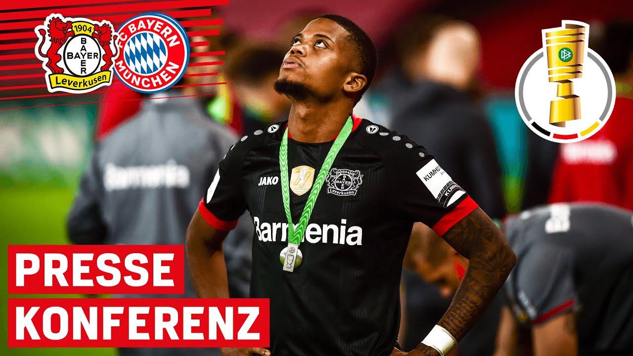 Bayern im Finale zu stark für die Werkself | Bayer 04 Leverkusen 🆚 Bayern München | PK nach'm Spiel