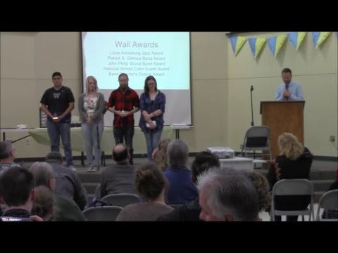 Kelso High School - Wall Awards Presentation - 2017