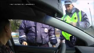 Беспредел и ложь на посту ДПС г. Волгоград .(, 2016-01-29T11:37:56.000Z)
