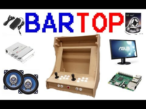 Building A 2 Player Bartop Arcade - Part 1 - Bench Test