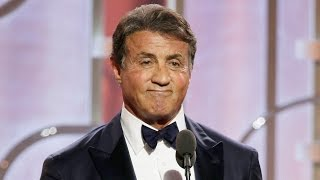 Sylvester Stallone Snubs Michael B. Jordan In Golden Globes 2016 Speech