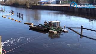 Baggerwerkzaamheden in havenkanaal Assen