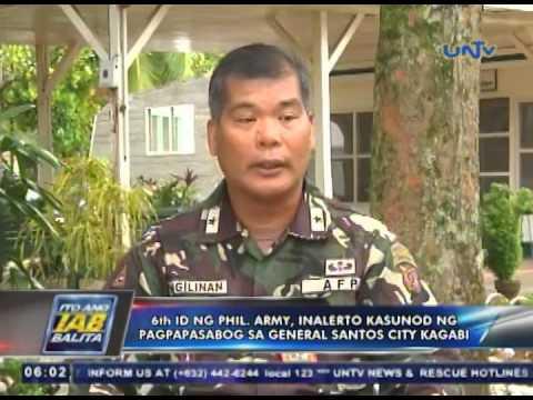 6th Infantry Division ng Philippine Army, inalerto kasunod ng pagpapasabog sa General Santos City