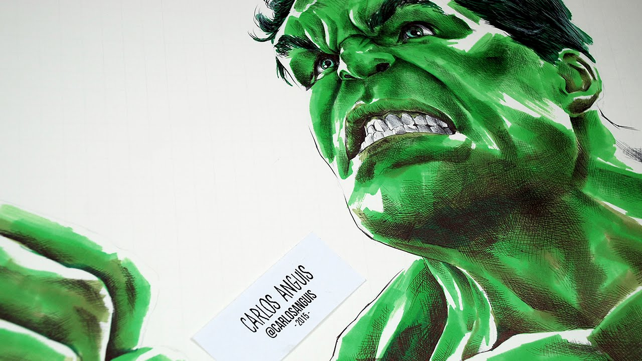 Avenger Age Of Ultron Sketch: Drawing Hulk From Avengers Age Of Ultron