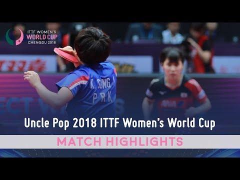 Miu Hirano vs Kim Song I I 2018 ITTF Women's World Cup Highlights (R16)