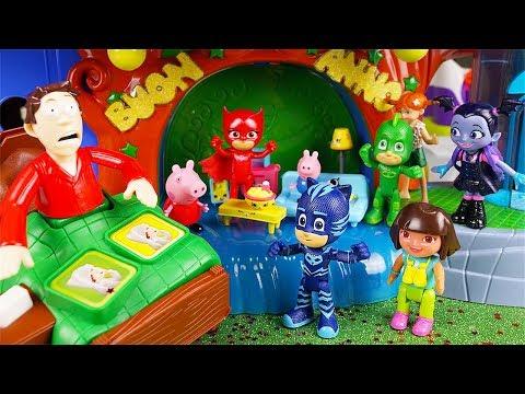 I Pj Masks Super Pigiamini e la sfida di Capodanno a Non Svegliare Papà al Quartier Generale