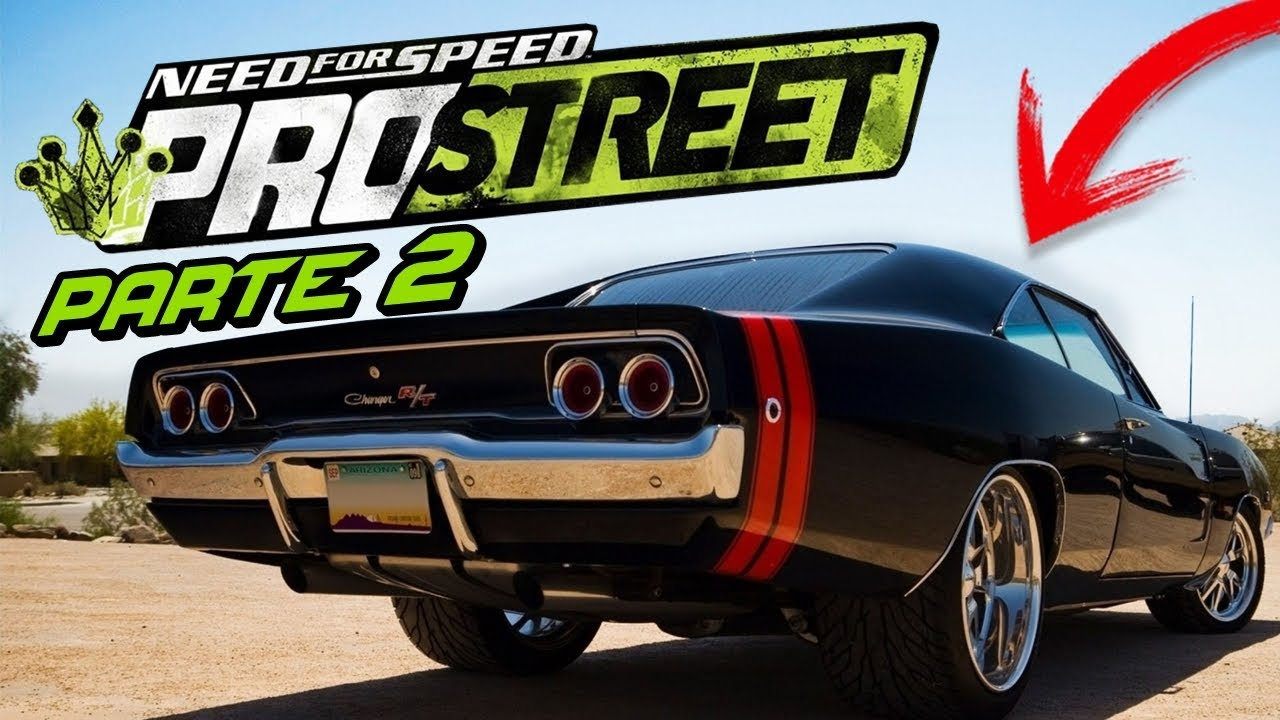 Need for Speed: ProStreet - COMPREI UM DODGE CHARGER R/T DE ARRANCADA! (PARTE 2)