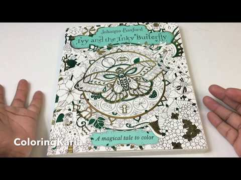 ivy-and-the-inky-butterfly:-a-magical-tale-to-color-by-johanna-basford-review