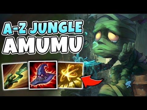 A-Z JUNGLE CHALLENGE #5 | FULL AP AMUMU JUNGLE