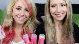 Easy Simple DIY Dip Dye Pink Hair