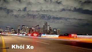Chị Đại Lái Siêu Xe Đi Bão Ở Houston