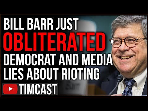 Bill Barr Just OBLITERATED Democrat And Media Lies About Antifa And Leftist Riots, Media PANICKING