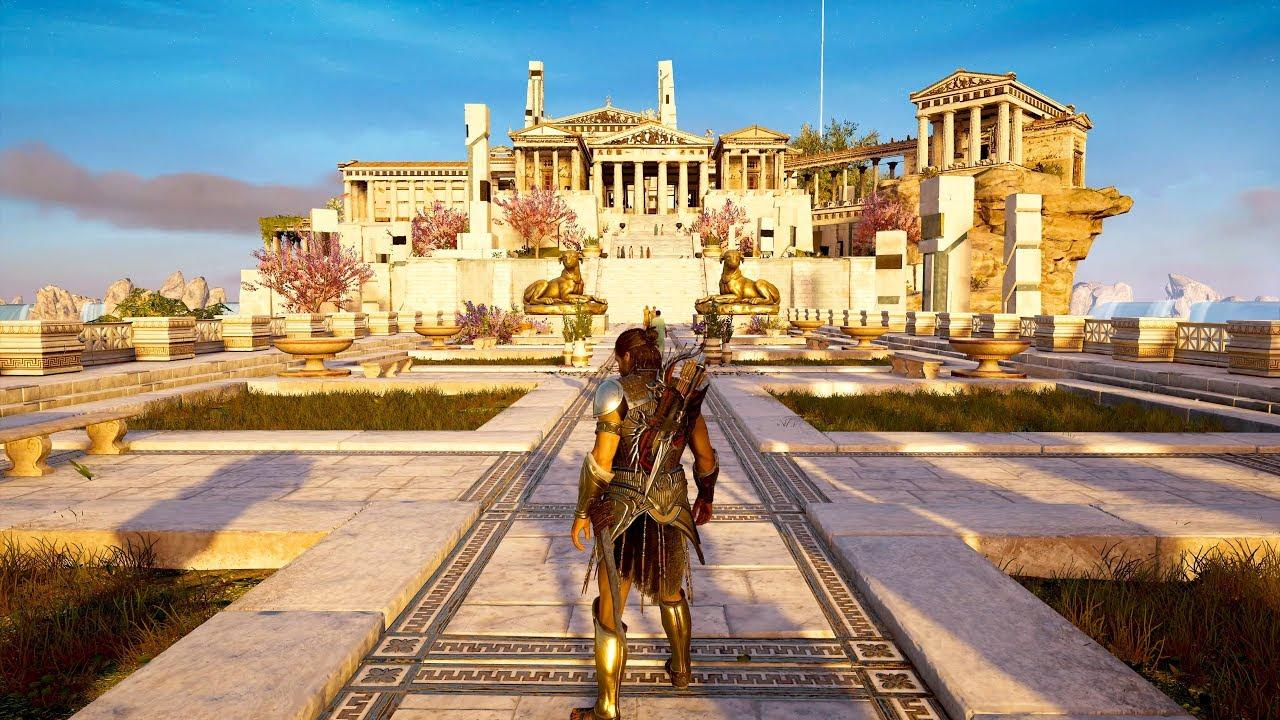 Assassin S Creed Odyssey Free Roam Gameplay 4k 60fps Youtube