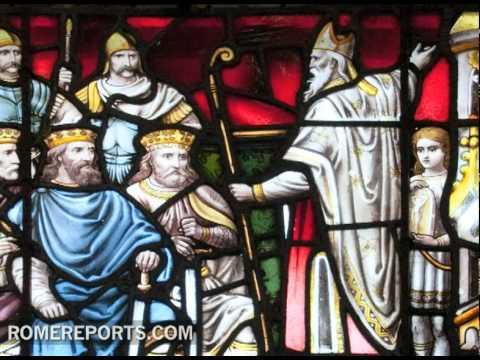 St. Patrick, the patron saint of Ireland