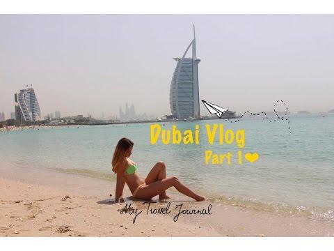 ❤Dubai 2k17 Vlog / Part 1/❤ Burj Khalifa, Jumeirah Beach, Dubai Mall....