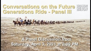 Conversations on the Future Generations Ride - Panel 3