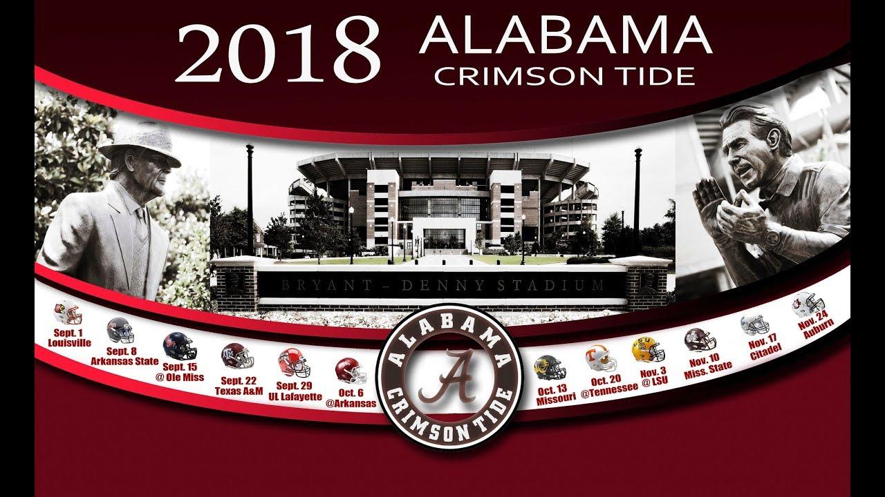 Alabama Football 2018 // 2019