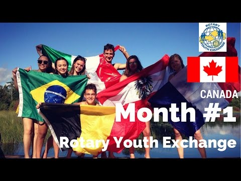 Month #1 Rotary Youth Exchange Canada - GoPro Hero 4