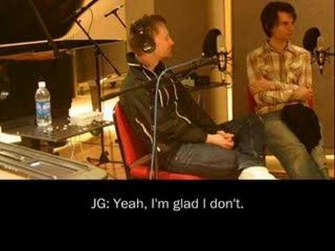 Thom Yorke & Jonny Greenwood Radio Interview