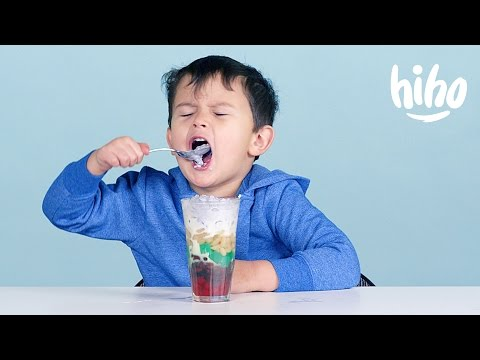 More Filipino Food | American Kids Try Food from Around the World – Ep 12 | Kids Try | Cut