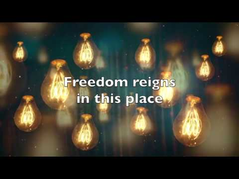 Jesus Culture-Freedom Reigns-Accompaniment & Lyrical Video