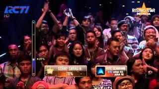 "Hanin Dhiya Songs ""Perahu Kertas"" By Maudy Ayunda Rising Star Indonesia Great 8 Eps 20"