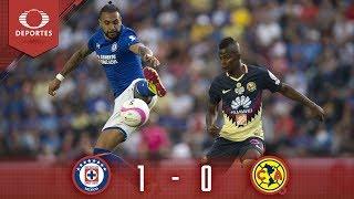Resumen: Cruz Azul 1 - 0 América | Clausura 2019 - Cuartos Vuelta | Televisa Deportes