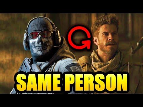 "PROOF Alex is Simon ""GHOST"" Riley in Modern Warfare #2 (Call of Duty Modern Warfare Campaign Story)"