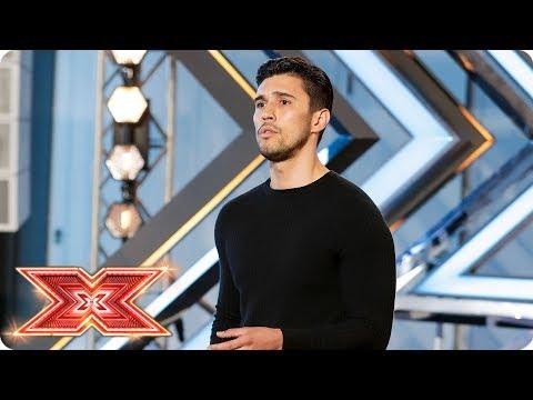 Brad Howard woos Nicole with Stevie Wonder track  | Auditions Week 4 | The X Factor 2017