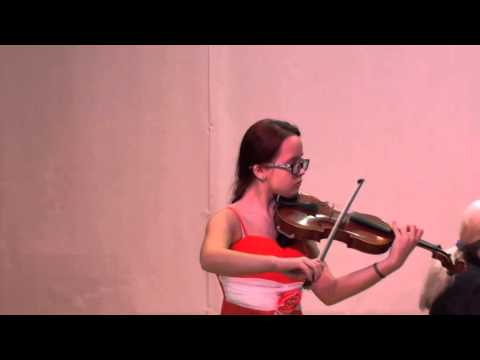 Карпенюк Татьяна (скрипка) ДШИ №3 г.Владивостока