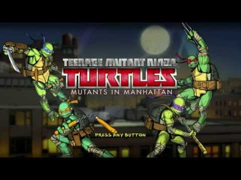 TMNT: Mutants in Manhattan PS4 - Gameplay Walkthrough Part 1/18 FULL GAME