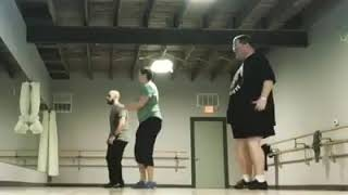 Tapper Dan 3-17-19. Another one in the dance studio!