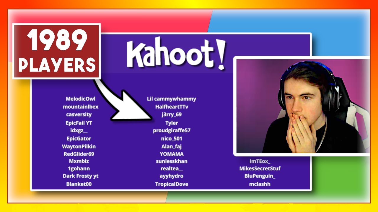 I hosted the BIGGEST Rocket League Kahoot & gave $1,000 to the winner
