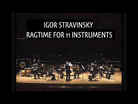 Stravinsky - Ragtime for 11 instruments