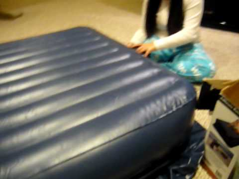 blowing up the blow up bed lmfao youtube. Black Bedroom Furniture Sets. Home Design Ideas