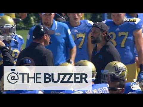 Jim Mora and defensive coordinator get into screaming match on sidelines