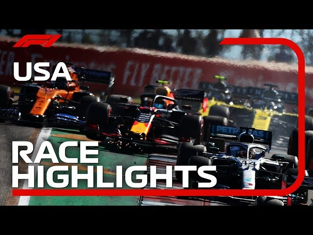 2019 United States Grand Prix: Race Highlights