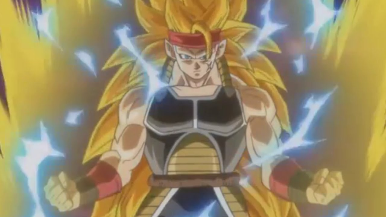 Dragonball Heroes - Super Saiyan 3 Bardock VS Super Mir      Doovi