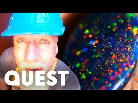 The Cooke Brothers Find Black Opal In 25m Mine Shaft | Outback Opal Hunters