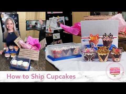 How to Ship Cupcakes