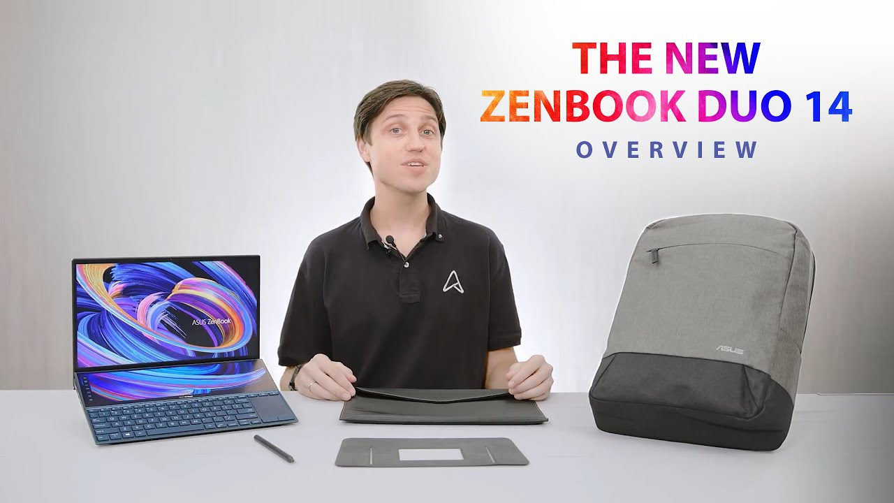 The new ZenBook Duo 14 Review - Overview | ASUS